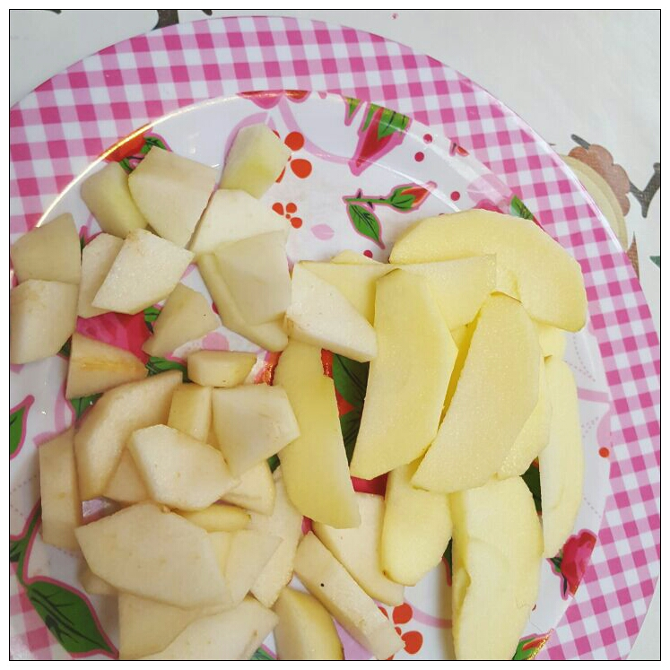 Elke dag vers fruit eten
